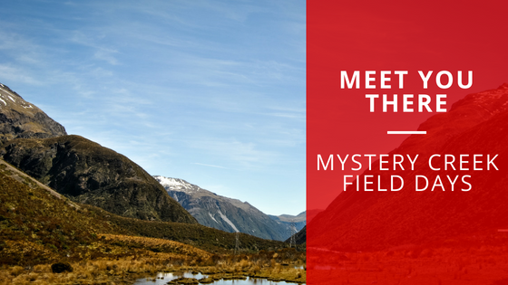 Meet you there | Mystery Creek Field Days